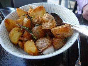 Thrice Cooked Russet Potatoes – Rosemary, Garlic, Sea Salt
