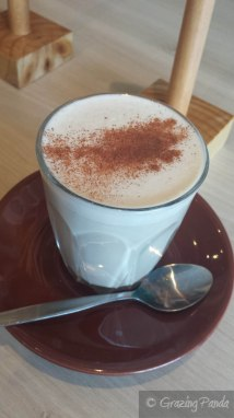 Chai Latte at Zaatar
