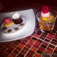 Desserts at Morris Jones