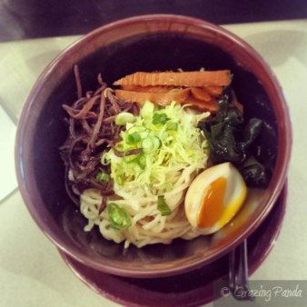 Vegetable Dry Oil Ramen
