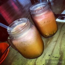 Fresh Juices - Orange and Passionfruit