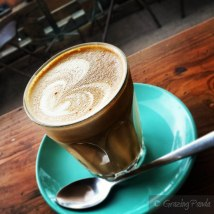 Latte at The Bell Jar