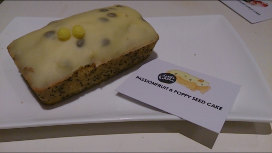 Passionfruit and Poppy Seed Cake