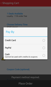 10. Paying for the Order